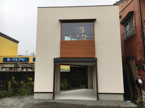 富士市に可愛らしい不動産屋ができました。