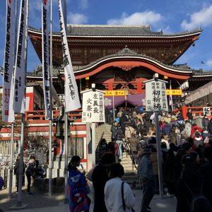 初詣、名古屋大須観音、毎年恒例