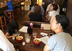 日本酒とスパイスのハーモニー