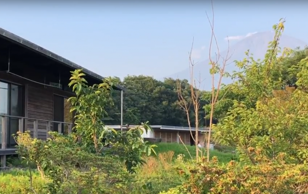 富士山と暮らす家