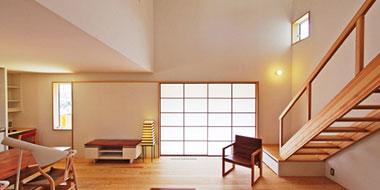 富士市、建築家、伊礼智による木の家、注文住宅
