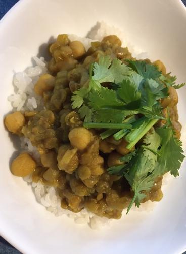 豆のカレー2