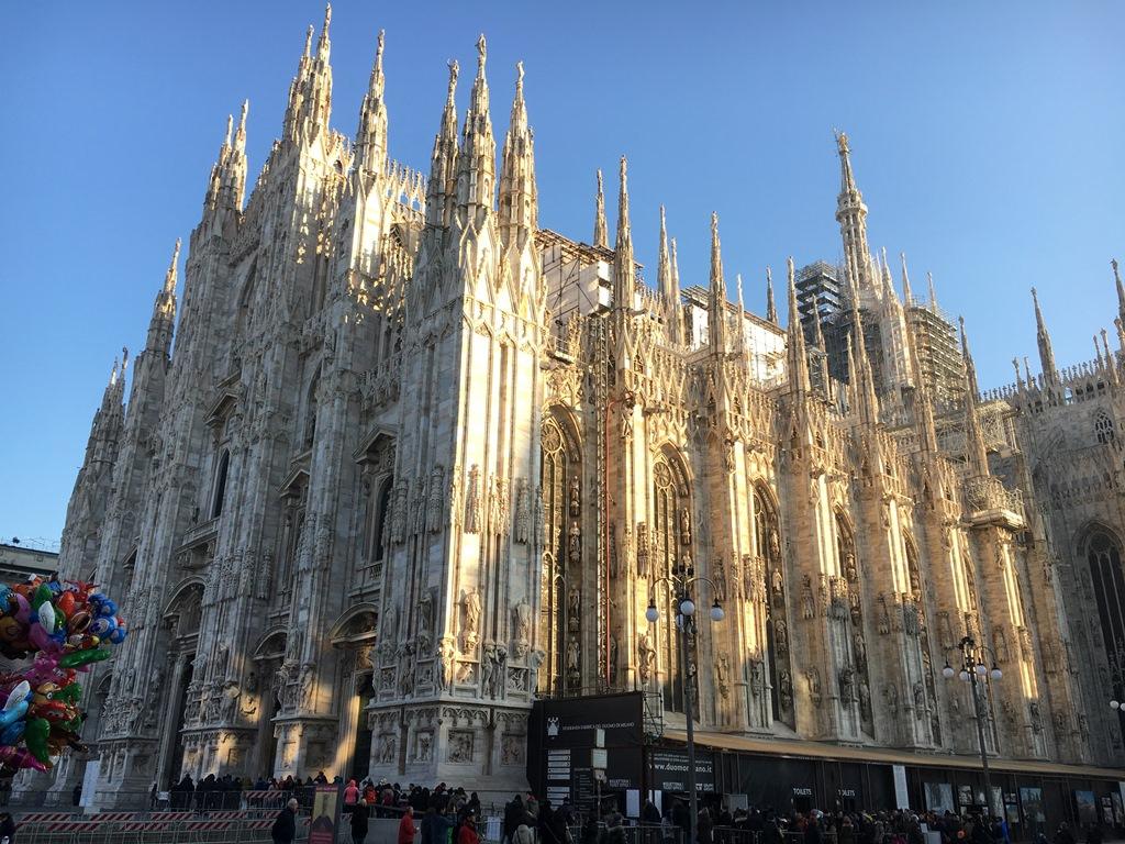 イタリア旅行1 ミラノでの年越し