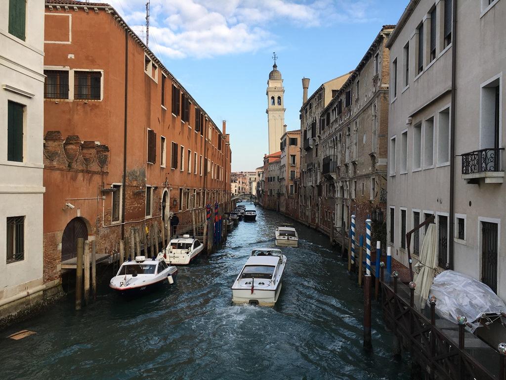 イタリア旅行5 ベニスの運河の風景