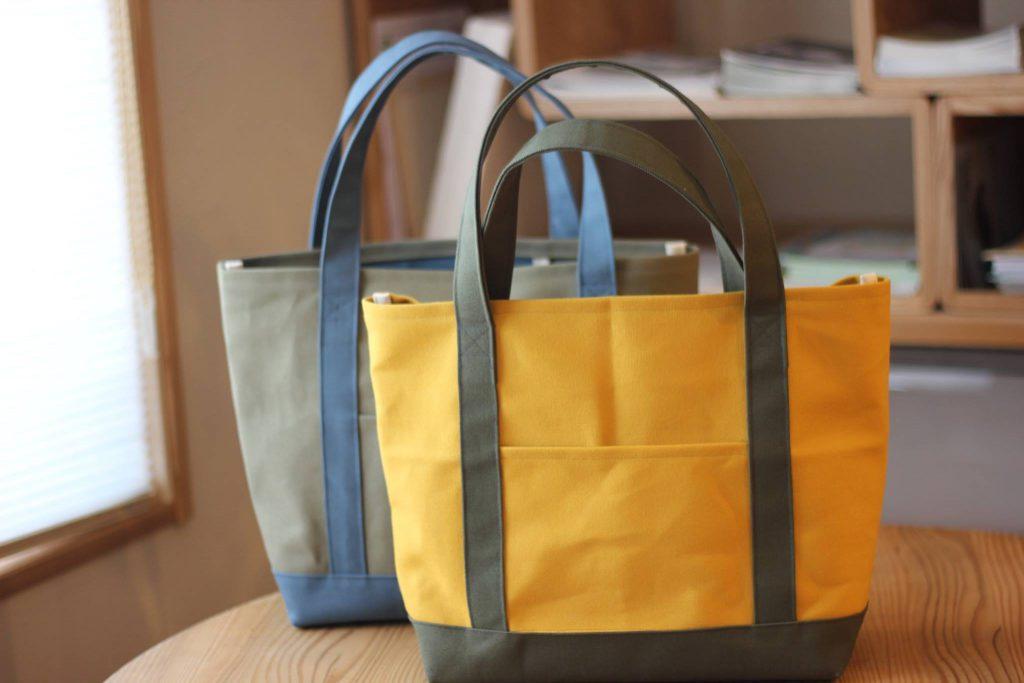 Rie Bagさんの帆布トートバッグ入荷しました