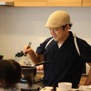 富士市工務店で料理教室