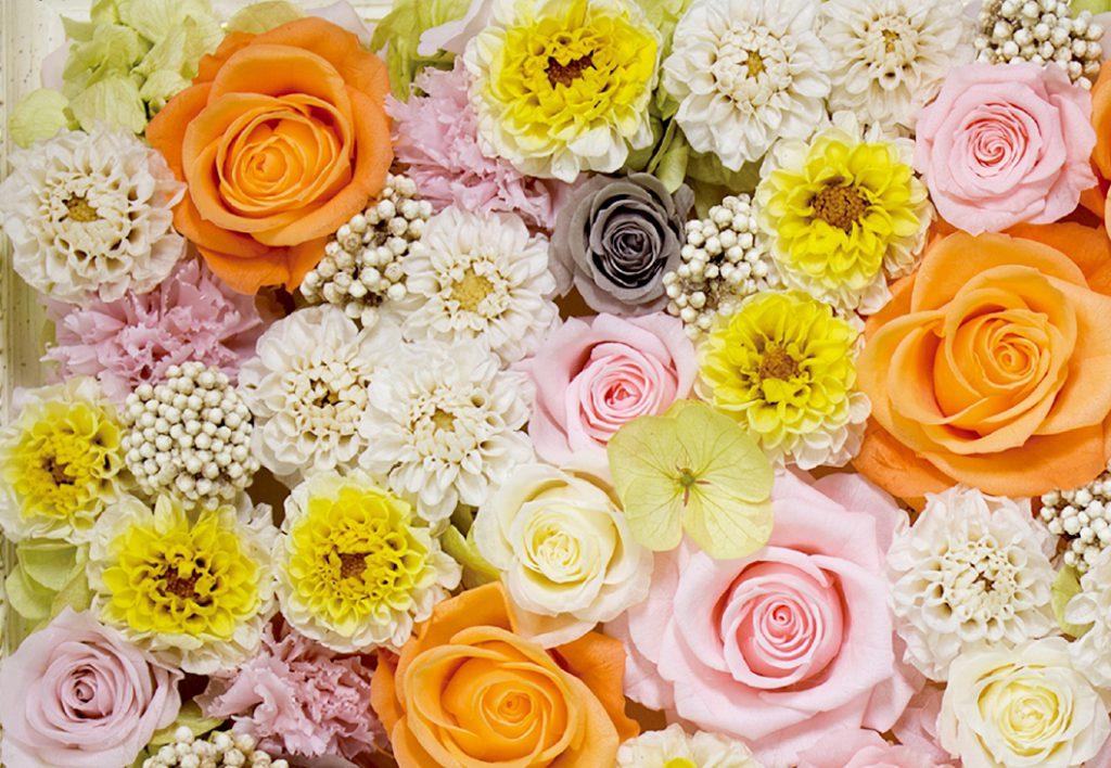 プリザーブドフラワーフェア 1/26(土)暮らしを彩る花 「フレンチブーケ講座」