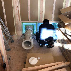 富士市で毎回気密測定をしている会社空間工房LOHAS
