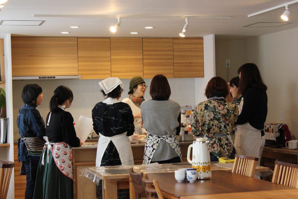 富士宮市木の家でキンパ教室