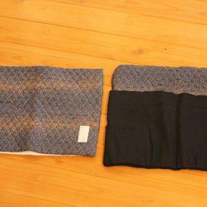 富士市でチェアカバーと防災頭巾カバー