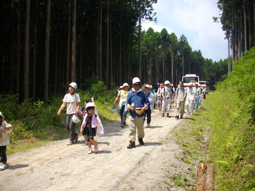 7/20(土)「木こりツアー」開催