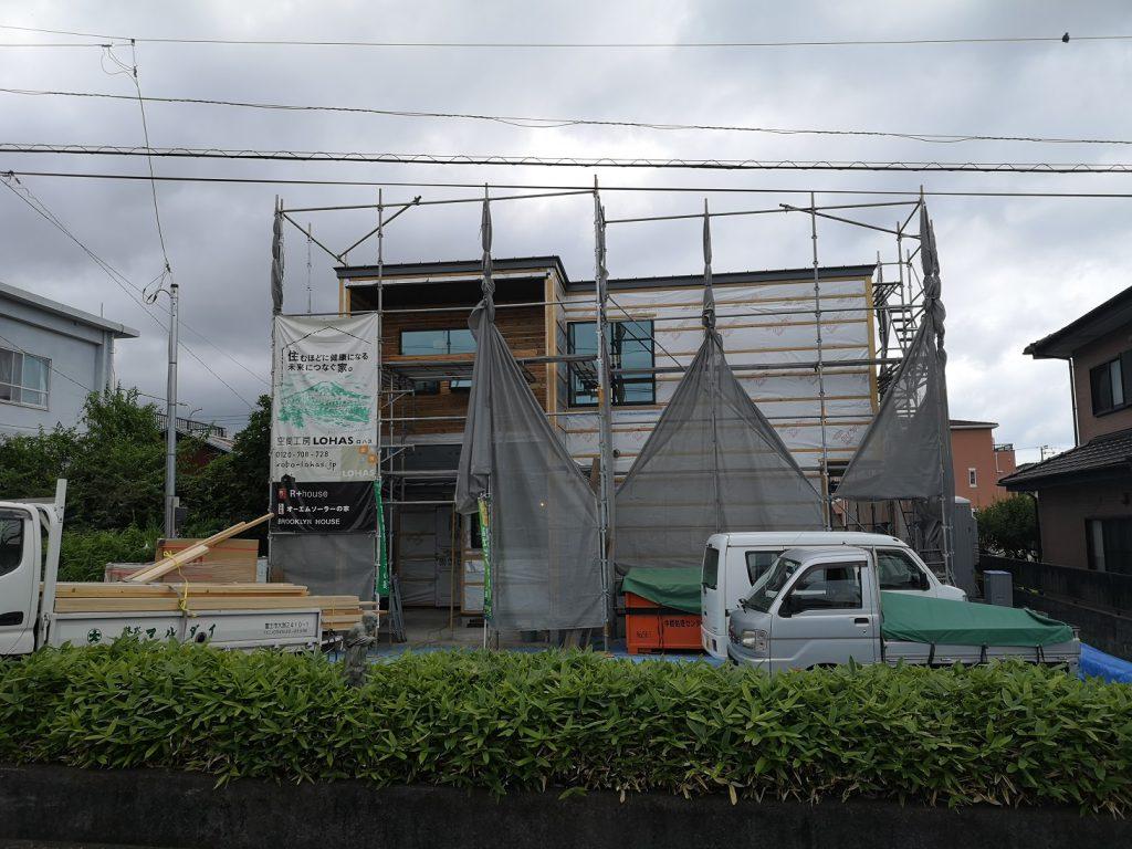 富士市の建築家住宅、R+house