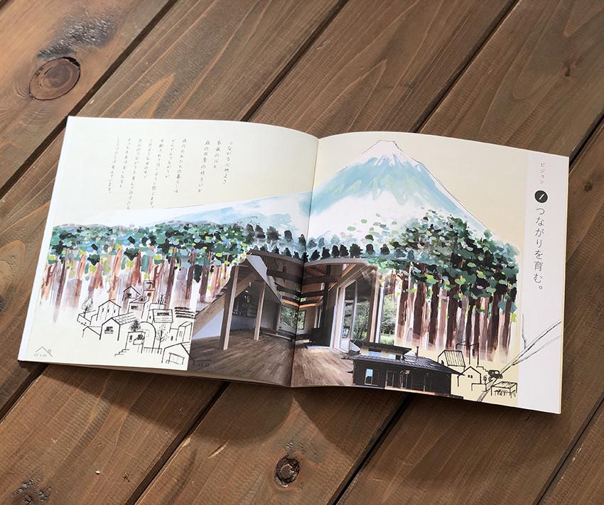 富士市、木の家、コンセプトブック
