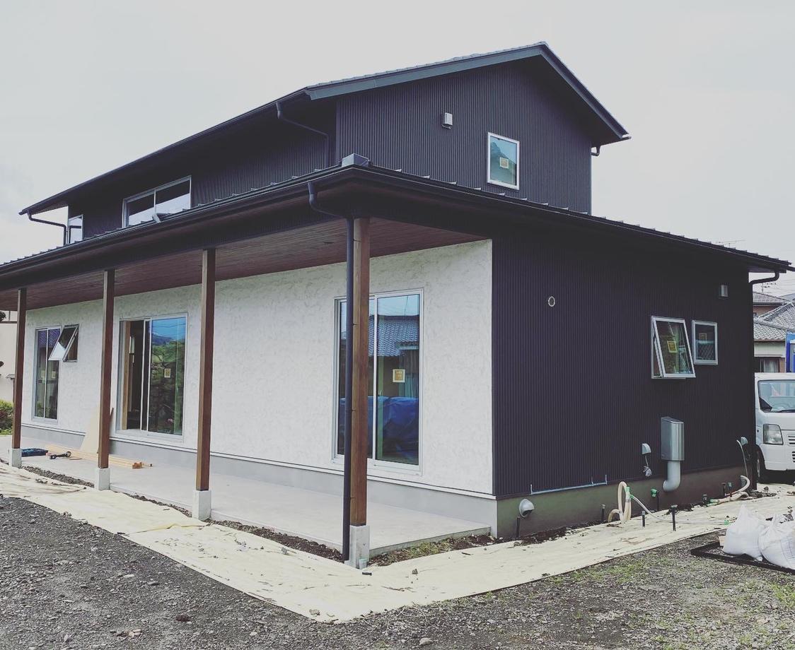 富士市現場、木の家の工務店
