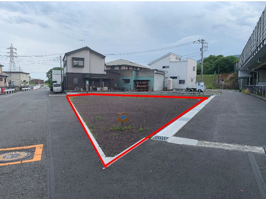 変形地発見、富士市