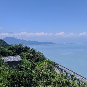 静岡県、薩埵峠からの風景