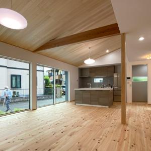 犬と暮らす木の家デザイナーズハウス