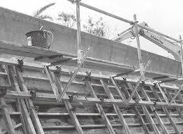 工事現場のキャットウォーク