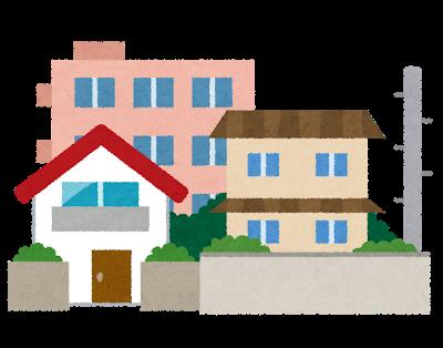 家の外観、屋根のデザイン