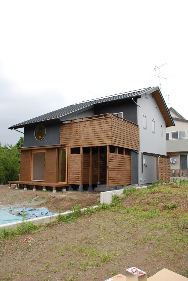 夏のOMソーラー。富士宮のOMの家完成しました。