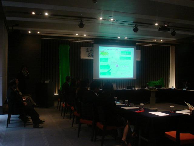 森林認証(SGEC)の記者発表会をやりました。