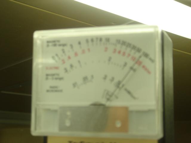 電磁波をはかってみました。