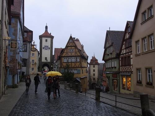 新しい年はドイツの古都から始まりました。