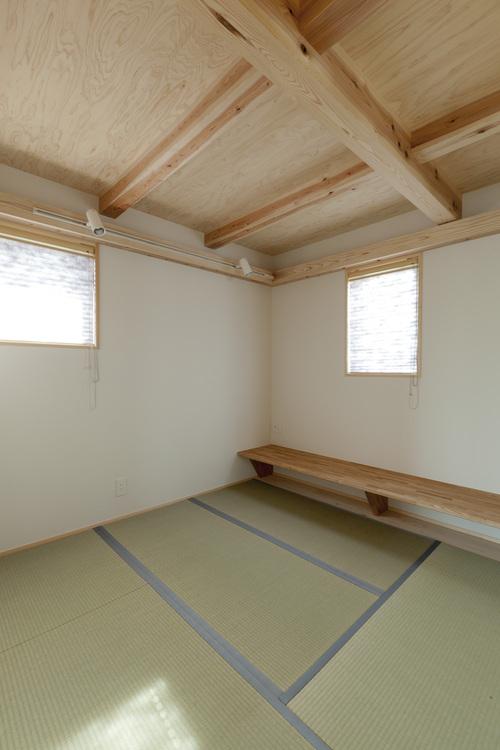 中里の家:OMで太陽熱+太陽光利用の家3