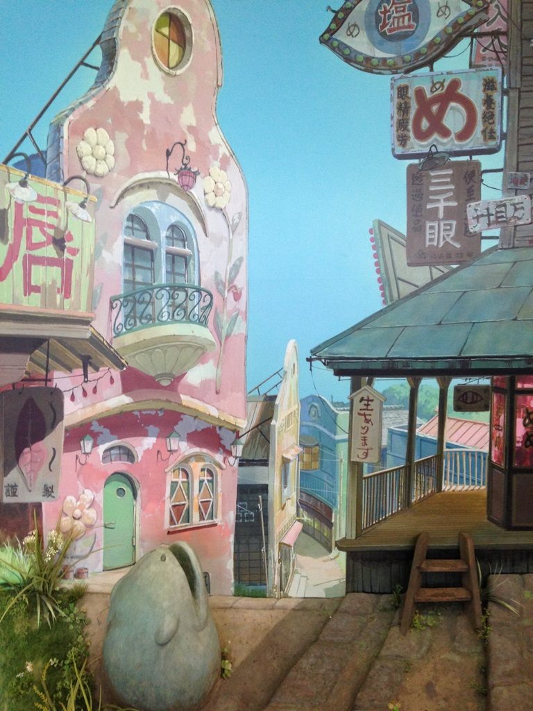 川越の古い町並みにほっとしました。